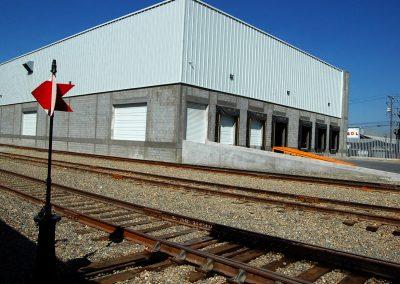 Área de carga y descarga en Nueva Estación García
