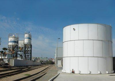 Torre de agua en Estación García