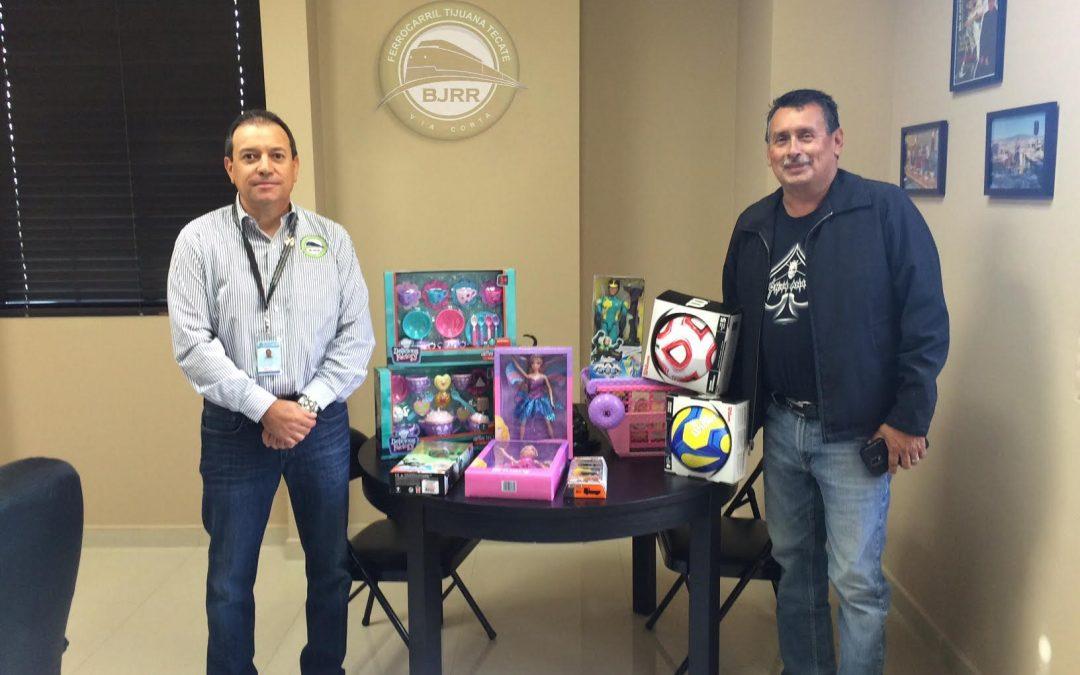 Baja California Railroad sumado al apoyo de comunidades vulnerables