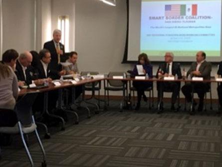 Primera reunión del año para fortalecer la relación binacional con Smart Border Coalition