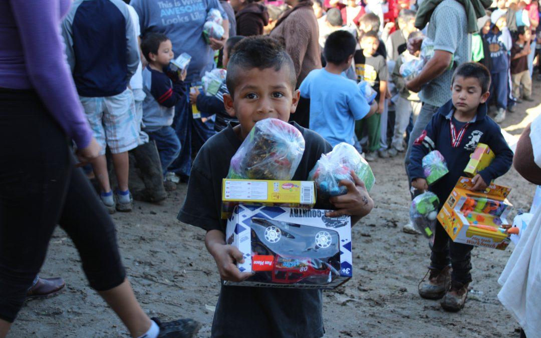 Baja California Railroad regaló momentos de felicidad a la comunidad infantil de Tijuana