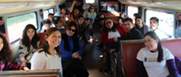 Baja California Railroad ofrece paseo en tren a voluntarios de Tijuana Innovadora