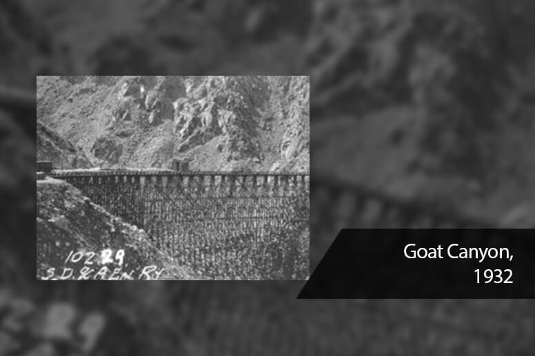 Goat Canyon, 1932