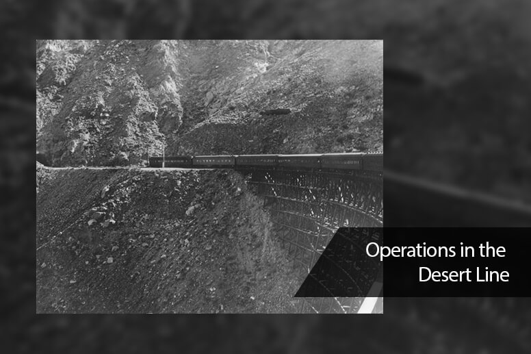Operations in the Desert Line