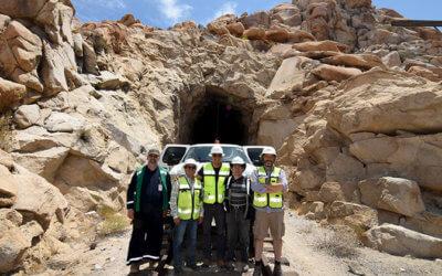 BJRR realiza inspección a más de 15 túneles en línea del desierto