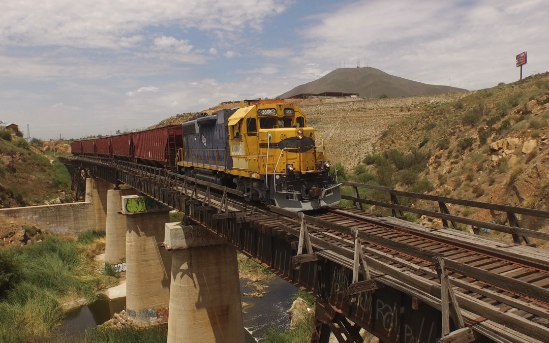 Baja California Rail Road (BCRR) will rehabilitate railroad tracks in Tijuana