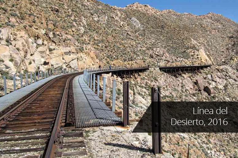 Línea del Desierto, 2016
