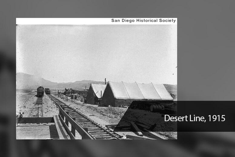 Desert Line, 1915