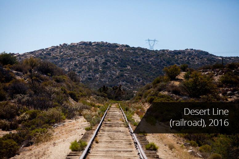 Desert Line (railroad) 2016