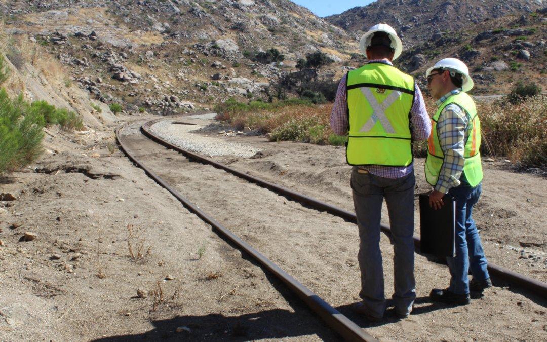 Continúan inspecciones de Baja California Railroad para cuidados de la Línea del Desierto