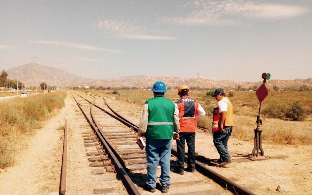 Agencia Reguladora del Transporte Ferroviario supervisa operación y mantenimiento de la Vía Corta Tijuana-Tecate