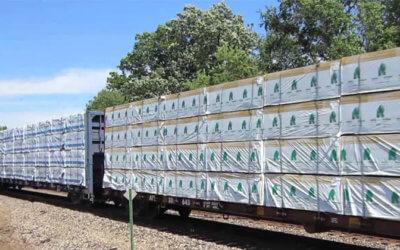 Consideran a ferrocarril Tijuana – Tecate como medio de transporte idóneo para movimientos de madera