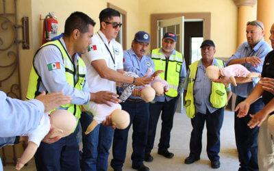 Impulsa Baja California Railroad capacitación en primeros auxilios entre su personal